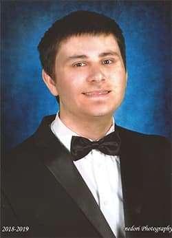 Graduation photo of Brian
